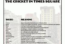 Cricket in Times Square / by Cindy Martin