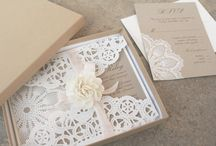 Wedding: Invitations / by Christina Pena Pittre