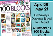 Quiltmaker's 100 Blocks Volume 9 / Quiltmaker's 100 Blocks vol.9! / by Quiltmaker Magazine