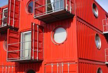 container &prefab homes / by viv