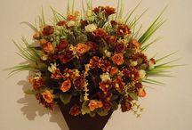 Sua casa  linda e aconchegante com flores!!!!!!!!!! / Arranjos para dar aconchego em  todos os ambientes de sua casa!  Descontos de 30% mais descontos no frete de até 60%! / by Regina Albuquerque