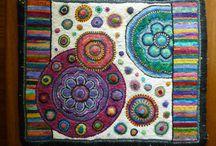 Hooked rugs 6! / by Wanda McCay