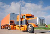 big trucks / by robert beane