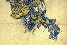 Fine Arts, Designs, more. / by Bernardita D.