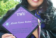 Mortar Boards / Decorated Grad Caps from Tasseltoppers.com / by Tassel Toppers