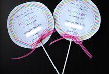 Birthday Party Ideas / by Christine Higgins Tetzlaff