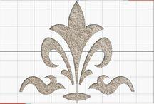 Fleur De Lis / Inspiration around the fleur de lis shape of our Carpet Stencil. / by Vecco