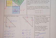 math notebooks / by Christie Klein