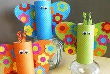 kids crafts & ideas / by Tammy Remillard