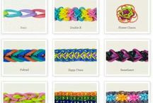 Rainbow/Crazy Looms Ideas / by Christina Budd