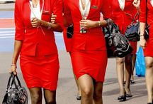 Vintage Flight Attendants  / by Damon The Don