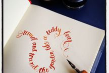 Calligraphy / by Kyrstie Neal