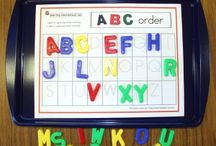 ABC activities for Wil / by Jillian Krause