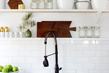 a very fine house - kitchen / inspiration for our kitchen / by Squirrelly Minds