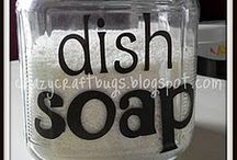 RECIPES - Household Cleansers / Natural homemade household cleaning recipes. / by Recipes for Natural Living
