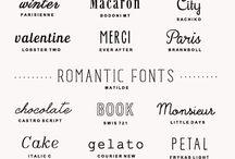 Fonts / by Carlos Tamara