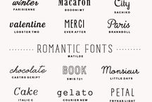 Fonts / by Jessica Wakeman