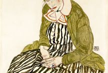 Art: Egon Schiele / by Anna Rita Caddeo