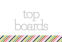 S E C T I O N :: top boards / by Pencil Shavings Studio