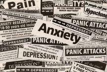 Anxiety/depression / by Cindy Hertz