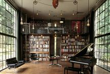 Books and bookshelves / Because the Hagens have a LOT of books... / by Rebecca Hagen