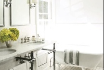 Interiors: Bathrooms / Bathrooms / by Jeanette Morrow