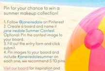 jane iredale summer contest / #janeiredalesummer / by Amy Kazor VA