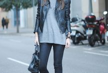 |leather looks| / by Katie Beth White