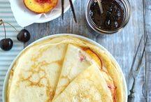 pancakes and crepes / by Julia Brooks