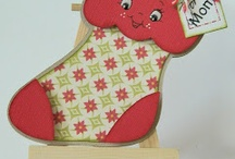 Cards...Christmas...Mittens, Stockings & Skates / by Doris Amey-Ketcham