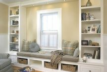Window Seat ideas / by Red Hen Home