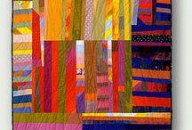 Art quilts textile fibre art / by Laetitia Cilliers