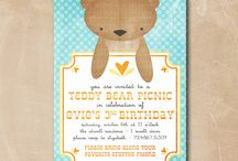 Party Inspiration: Teddy Bear Picnic / Today's the day the teddy bears have their picnic! / by One Swell Studio - Cara McGrady
