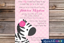 Baby Shower Invites / by Dreamlike Magic Designs