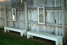 Benches! / by Cheri Farmer