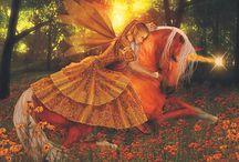 Unicorns/Pegasus / Mythology / by Virginia Roberts