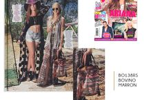 CUADRA en la prensa / Colaboraciones editoriales sobre nuestros productos en las mejores revistas de moda  / by CUADRA Lifestyle