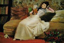 Girl Reading / by Valerie Villanueva