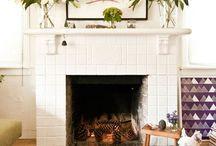 Mi casa es su casa / Ideas for White Fireplace / by Annalisa Babb