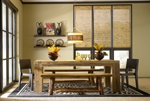 Dining in Style / Dining room color and style inspiration to help you on your way to a new painting project.  / by BEHR®
