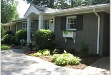 Outside Spaces / Where Gardening & Home Exteriors Collide! / by Christina Lynn