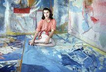 Artist: Helen Frankenthaler / by Art by Wietzie