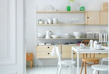 Kitchen / Clean. Flavorful. With Rakks, your kitchen gets that extra pinch of style.  / by Rakks Shelving