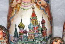 Russian Dolls / by Marjorie Kupiec