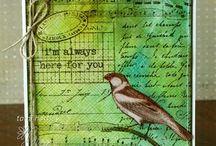 distress ink technique / by Hilde Jäggli