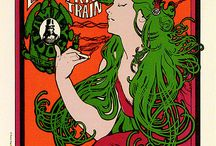 Vintage rock posters / by Barbara Guttman