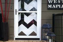 Front door ideas / by Stacy Hartless