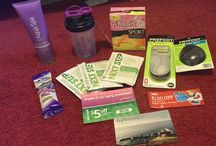 #GoVoxBox / Board full of products I received for testing purposes from @influenster to keep me going strong!! / by theresa A.