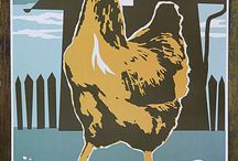 Roosters and Chickens / by Kathy Lowe