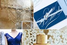 Blue & Gold Wedding Ideas / by Winnipeg Blue Bombers